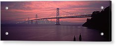 Bridge Across A Sea, Bay Bridge, San Acrylic Print