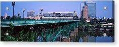 Bridge Across River, Gay Street Bridge Acrylic Print