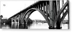 Bridge Across River, Henley Street Acrylic Print