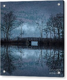 Bridge At Chocorua Acrylic Print