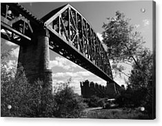 Bridge At Falls Of The Ohio Acrylic Print