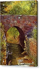Bridge At Manitou Springs Acrylic Print