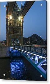Bridge At Night Acrylic Print by Svetlana Sewell