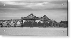 Bridge At North Bend Acrylic Print