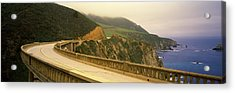 Bridge At The Coast, Bixby Bridge, Big Acrylic Print