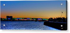 Bridge At Twilight Acrylic Print