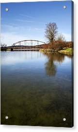 Acrylic Print featuring the photograph Bridge At Upper Lisle by Christina Rollo