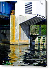 Bridge  Acrylic Print by Christy Usilton