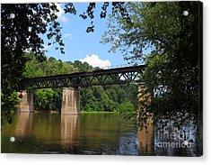 Bridge Crossing The Potomac River Acrylic Print