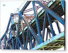 Bridge II Acrylic Print by Cindi Cereceres