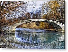 Bridge In The December Sun Acrylic Print