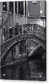 Bridge In Venice 2 Acrylic Print