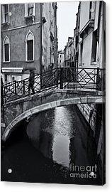 Bridge In Venice 3 Acrylic Print