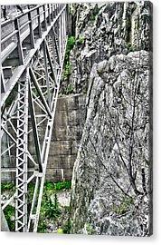 Bridge In Vermont Acrylic Print