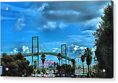 Acrylic Print featuring the photograph Bridge by Joseph Hollingsworth