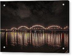 Bridge Lights Acrylic Print by Ray Congrove