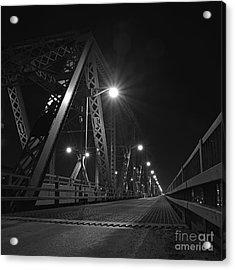 Bridge Night Acrylic Print