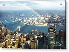 Bridge Of Light - In Loving Memory Acrylic Print by Michelle Wiarda