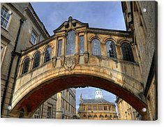 Bridge Of Sighs Acrylic Print