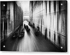 Bridge Of Sighs Acrylic Print by Roswitha Schleicher-schwarz