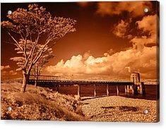 Bridge On The Lake Acrylic Print