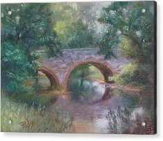Bridge Over Cocalico Creek Acrylic Print