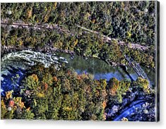 Bridge Over River Acrylic Print