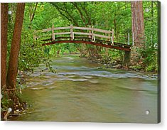 Bridge Over Valley Creek Acrylic Print