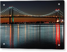 Suspended Reflections Acrylic Print by James Kirkikis