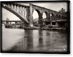 Bridge Reflections Acrylic Print