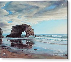 Bridge Rock Acrylic Print