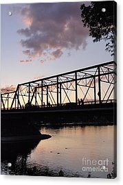 Bridge Scenes August - 1 Acrylic Print