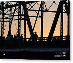 Bridge Scenes August - 2 Acrylic Print