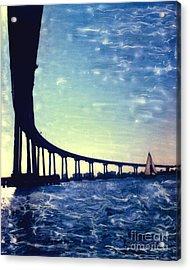 Bridge Shadow - Vertical Acrylic Print