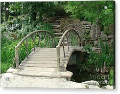 Bridge To A New Life Acrylic Print by Janette Boyd