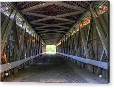 Bridge To Green Acrylic Print