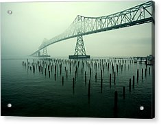Bridge To Nowhere Acrylic Print