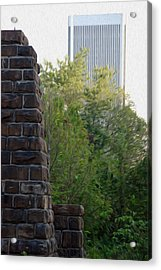 Acrylic Print featuring the digital art Bridge To The Future by Kelvin Booker