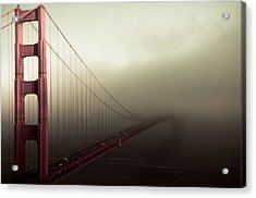 Bridge To The Unknown Acrylic Print by Jeffrey Yeung