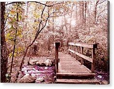 Bridge To Utopia  Acrylic Print