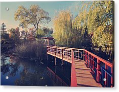 Bridge To Zen Acrylic Print
