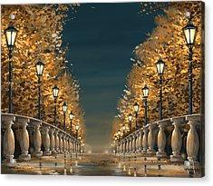 Bridge Acrylic Print by Veronica Minozzi