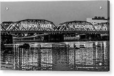 Bridges Over Forever Acrylic Print by Louis Dallara