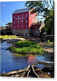 Bridgeton Mill 2 Acrylic Print by Marty Koch