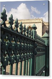 Bridgetown Gate Barbados Acrylic Print by Bruce Sommer