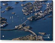Bridging The Ocean Acrylic Print