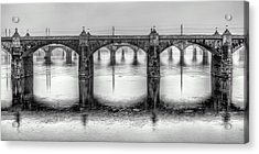 Bridging The Susquehanna  Acrylic Print by JC Findley