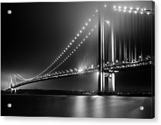 Bridging Verrazano Narrows Acrylic Print