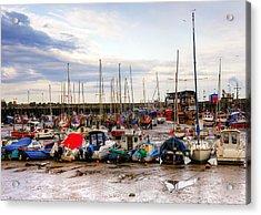 Bridlington Harbour Acrylic Print by Svetlana Sewell