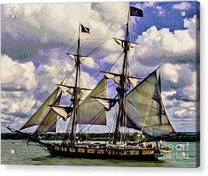 Brig Niagara IIi Acrylic Print